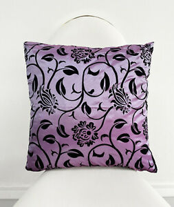 """Clearance Damask Cushion Covers Home Decor Event 18"""" x 18"""" Furniture Accessories"""