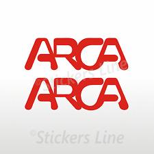 2 Adesivi per camper ARCA adesivo scritte adesive arca europa caravan monocolore