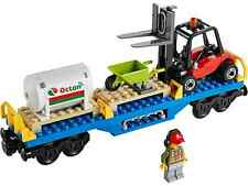 LEGO City Train Fuel Wagon and Forklift Brand New from set 60052