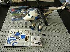 Lego City - Police Chopper with pilot and Chase McCain - Split from 60138