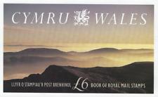 1992 Cymru Wales £6 Stamp Booklet Dx13