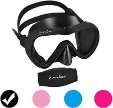 New listing Omgear Diving Mask Made of Silicone for Diving Without Scuba & Impact Resistant