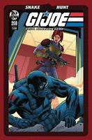 GI Joe A Real American Hero 221  SNOW JOB B//W Variant Blindbox Comics IDW