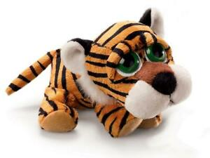 "Russ Berrie Li'L Peepers Tiger Boa Plush Toy 9"" / 22cm"