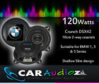 """BMW Upgrade speakers 10cm 4"""" suitable for 1, 3 & 5 series, Shallow Slim co axial"""