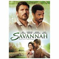 Savannah DVD, 2013 Chjwetel Ejiofor, Jim Caviezel, Sam Shepard, Hal Holbrook NEW