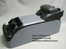 Gray Center Console With Black Armrest Crown Victoria P71 Police