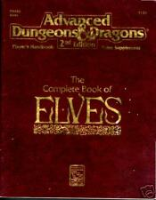AD&D Complete Book of Elves © 1992 TSR