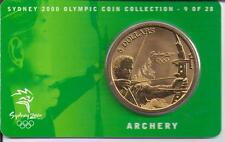 2000 $5 RAM UNC Coin Sydney Olympic coin collection- 9 of 28 (Archery) + cover