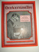 OXY-ACETYLENE TIPS - December 1931 - Linde Air Products Co. - Nice Cover