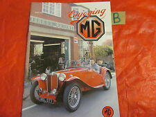Enjoying MG Magazin Juni 2003 ZR td-mga roadster-wa 2.6 litre-superchips-spain