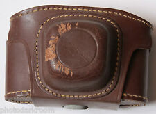 Craftsman Leather Camera Case - Fitted Approx. 3D x 5.5W x 3.5H - VINTAGE C06