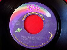 "Lakeside It's All The Way Live (Part 1 & 2) 7"" US ORIG 1978 Solar Funk VINYL"