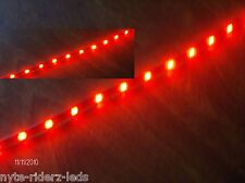 "RED 12"" 5050 SMD LED STRIPS FOR ALL TYPES OF CARS AND MOTORCYCLES"