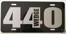 MOPAR 440 WEDGE LICENSE PLATE FITS DODGE PLYMOUTH CUDA