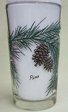 Pine  Peanut Butter Glass Glasses Drinking Kitchen Mauzy 83-1