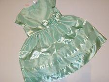 Gymboree Spring Dressy Girls Size 4 Dress NEW NWT Green Shiny Bow Flower Wedding