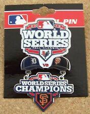 2012 Detroit Tigers S.F. San Francisco Giants Champions World Series dangle pin