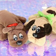 Vintage Pound Puppies Newborns Brown Tan Spotted Wrinkly Wrinkled Face BO495
