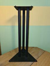 Lautsprecherständer Lautsprecher Stand schwarz 1 Stück