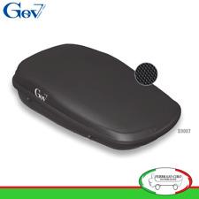 Gev S9007 - BOX BAULE UNIVERSALE PORTABAGAGLI AUTO STYLE 490 LT NERO OPACO