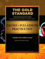 The Gold Standard DAT PAT & GS-1, Book IV (Paperback or Softback)