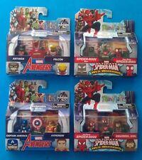 Marvel Minimates Walgreens Wave 3 Set Captain America Ant Man Spiderman Noir