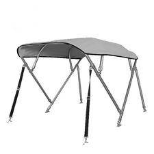 4-Stangen Edelstahl Bimini Top mit einer Breite von 215-228cm