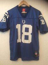 Indianapolis Colts NFL Fútbol Americano Reebok Camiseta # 18 Manning