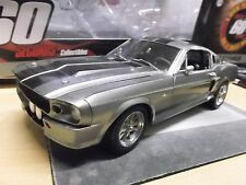 Ford Shelby Mustang GT 500 e 1967 Eleanor cine TV Gone in 60 seconds New 1:18