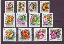 GUINEA - SG846-857 MNH 1974 FLOWERS OF GUINEA
