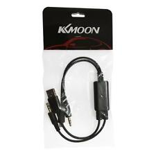 3.5mm Car Audio USB AUX In Cable Adapter For BMW 3 Series MINI Cooper For iPhone