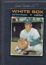 1971 Topps #169 Ed Herrman White Sox EX/MT *6451