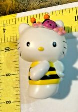 "Bumble Bee HELLO KITTY 3"" pvc figure MOC Nakajima Sanrio figurine 2002 toy"