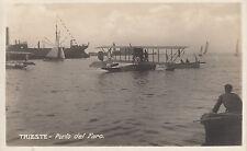 2140) Trieste Porto del Faro - 1941 - Idrovolante -