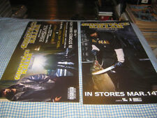 GHOSTFACE-(fishscale)-1 POSTER FLAT-2 SIDED-12X24-NMINT-RARE