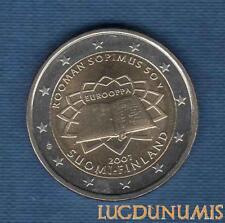 2 euro Commémo - Finlande 2007 Traité de Rome Finland