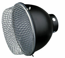 Vivarium Reptile Reflector Lamp with Safety Guard Strengthens UV