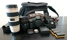 Canon EOS 5D Mark III DSLR w/24-70mm & 70-200mm Lenses - Complete Kit