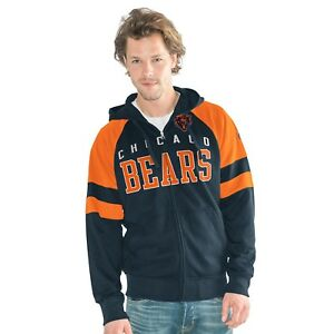Chicago Bears G-III The League Full Zip Hooded Sweatshirt Adult Medium Hoody