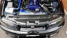 Nissan Skyline R33 GTR complet Radiateur Rad refroidissement plaque supérieure fibre de carbone 95 - 98