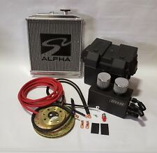 Acura Integra Red 0 Gauge K Series Battery Relocation Kit w/ New Ground Wires