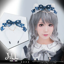 lolita princess diary Venus pearl ocean overlapping cat ear headband【J1U5011】