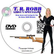 Air Arms S200 & Variants Air Rifle Tuning, Servicing, Repair DVD by T.R.Robb