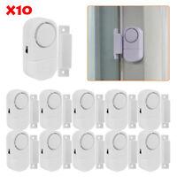 10X WIRELESS Home Window Door Burglar Security ALARM System Magnetic Sensor US