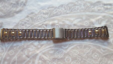 BRACELET MONTRE ACIER ////     WATCH BAND //  16MM ARGENTE   //   / REF AE22
