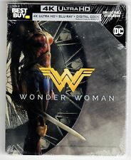 Wonder Woman 4k UHD Bluray Best Buy Steelbook - Brand New and Sealed