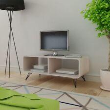 TV-Schrank Fernsehtisch Holz TV Lowboard Fernsehschrank Wohnzimmer Grau/Braun