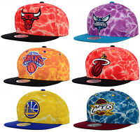Mitchell & Ness Authentic NBA Surf Camo Snapback Adjustable Fit Hat Cap