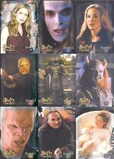 BUFFY  THE STORY CONTINUES BY IKON 81 CARD BASE / BASIC SET